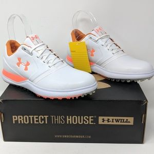 NEW UNDER ARMOUR SAMPLE SPIKELESS GOLF SHOES